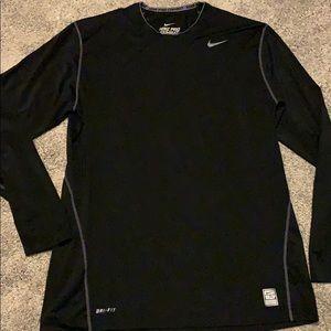Nike Pro Combat Dri fit long sleeve top